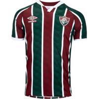 Camisa Umbro Fluminense Oficial I 2020 Masculina - Masculino