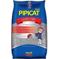 Areia Higiênica Pipicat Ultra Dry Para Gato 4Kg