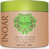 Mascara Inoar Macadamia 500 Ml - Unissex-Incolor