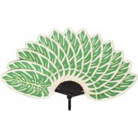 Pubumésu Leque De Folhas - Verde