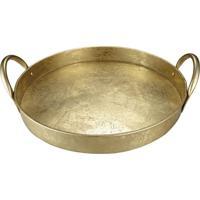 Bandeja Portugal Dourado 46 Cm