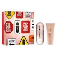 Kit Carolina Herrera Perfume 212 Vip Rose Feminino Edp 80Ml + Locao Hidratante 100Ml
