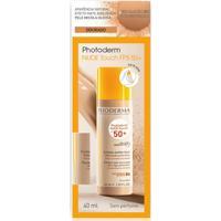 Base Facial Photoderm Nude Touch Dourado Fps50+ 40Ml Bioderma