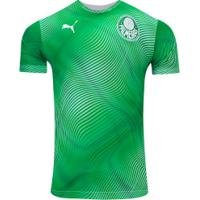 Camisa Pré-Jogo Do Palmeiras 2020 Puma - Masculina - Verde