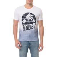 Camiseta Ckj Mc Estampa Malibu Azul Escuro Camiseta Ckj Mc Estampa Malibu - Azul Escuro - Pp