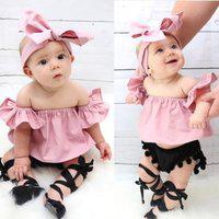 Top Rosa Blusinha Ciganinha Bebê Menina Moderninha Linda