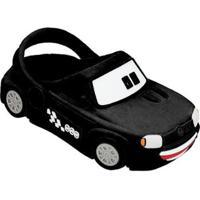 Babuche Infantil Carro Uno Plugt Masculino - Masculino-Preto