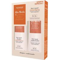 Kit Alta Moda Hair Repair Shampoo + Condicionador 300Ml