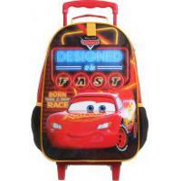 Mochila De Rodinhas Escolar Carros