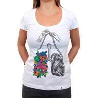 Eu Respiro Tricô - Camiseta Clássica Feminina