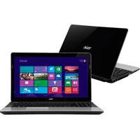 "Notebook Acer E1-531-2420 - Intel Inside Cm1000 - Ram 4Gb - Hd 320Gb - Tela 15.6"" - Windows 8"