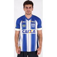 Camisa Umbro Avaí I 2018 Jogador Nº 10 Com Patrocínio Masculina - Masculino