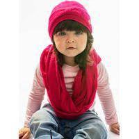 Touca Acrílica Turbante Everly Bebê Pink