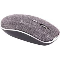 Mouse Twill- Cinza- 7,5X3,5X12,5Cm- Bluetooth