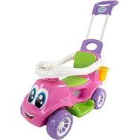 Carrinho De Passeio Infantil Little Truck 3X1 Com Empurrador - Feminino-Rosa