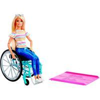 Barbie Fashionistas Cadeira De Rodas - Mattel - Kanui