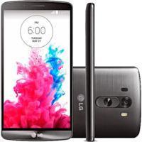 """Smartphone Lg G3 D855 Titanium - 4G Lte - 16Gb - Wi-Fi - Quad Core - 5.5"""" - 13Mp - Android 4.4 Kitkat - Desbloqueado"""