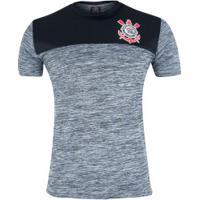 Camiseta Do Corinthians Corrêa - Masculina - Cinza/Preto