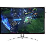 "Monitor Gamer Aoc Entusiasta 31.5"" Led Widescreen Ag322Fcx/75 Preto"