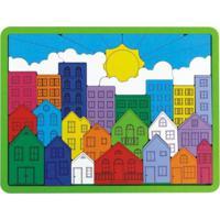 Encaixe Brinquedo Newart Toys Urbano Multicolorido - Kanui