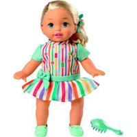 Boneca Bebê - Little Mommy - Doce Bebê - Vestido Colorido - Mattel