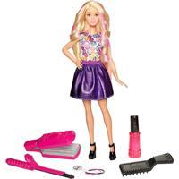 Boneca Barbie - Fashion - Ondas E Cachos - Mattel - Feminino-Incolor