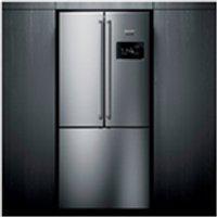Refrigerador Side Inverse Brastemp De 3 Portas Frost Free Com 540 Litros Painel Eletronico Inox - Bro81Ar