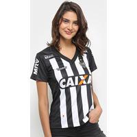 Camisa Atlético-Mg I 2018 S/N° Torcedor Topper Feminina - Feminino