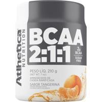 Bcaa 2:1:1 Pro Series - 210G - Atlhetica Nutrition - Tangerina