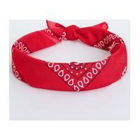 Bandana Estampada   Accessories   Vermelho   U