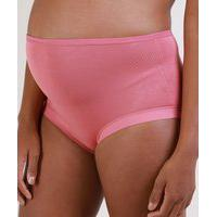 Calcinha Gestante Love Secret Max Comfort Rosa