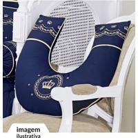 Apoio Amamentar Azul Marinho - Batistela