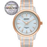 19a4317d9fb Relógio Orient Feminino Swarovski Ftss0056B1Sr