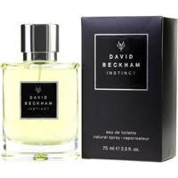 Perfume Instinct Masculino David Beckham Edt 75Ml - Masculino-Incolor