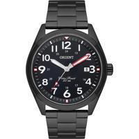 Relógio Orient Masculino Sports Mpss1036 P2Px Preto Pulseira Aço Preto