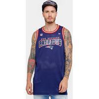 Camiseta Regata New Era Nfl New England Patriots Sports Rib Masculina - Masculino
