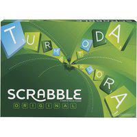 Jogo Palavras Cruzadas Scrabble Mattel Tabuleiro