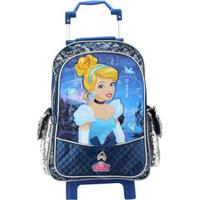 Mochilete Cinderella 20, Azul Marinho, P - 37004 - Dermiwil