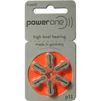 Bateria P/ Aparelho Auditivo Power One P-13