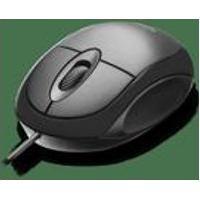 Mouse Classic Box Optico Full Black Usb - Mo300