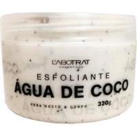Esfoliante ÁGua De Coco Hidrataã§Ã£O Completa 330G Labotrat - Branco - Feminino - Dafiti
