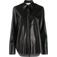 Nanushka Shirt Jacket - Preto