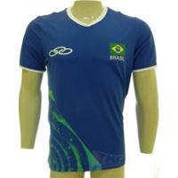 Camisa Olympikus Cbv Masculina Jogo Sn 16/17 Azl - Olympikus