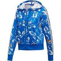 Jaqueta Adidas W Farm Print Ht Azul