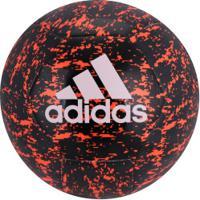 Bola De Futebol De Campo Adidas Glider Ii - Preto Vermelho cbc39423ef50b