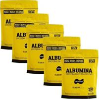 Kit 5 Albumina - 500G Refil Naturovos - Unissex