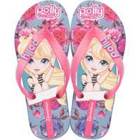 Chinelo Infantil Polly Pocket Ipanema 26048