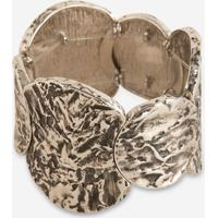 Bracelete Soulier Stone Feminino - Feminino-Marrom