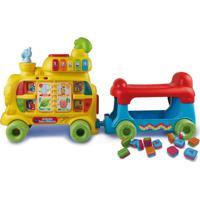 Andador Infantil Trem Alfabeto Som E Luz Yes Toys