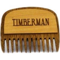 Pente De Madeira Timberman Para Barba De Bolso Marrom